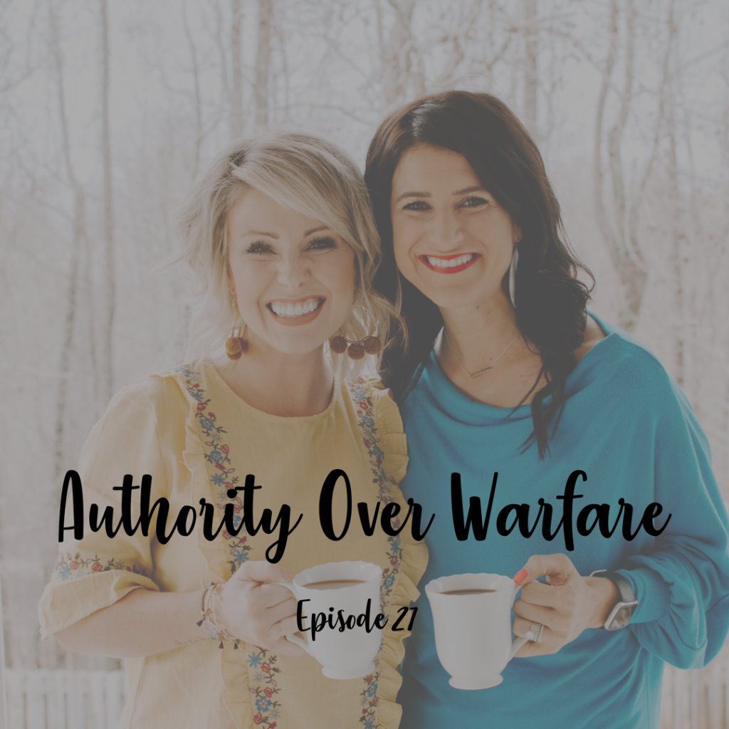A cup full of hope podcast authoirty over warfare christian infertility podcast