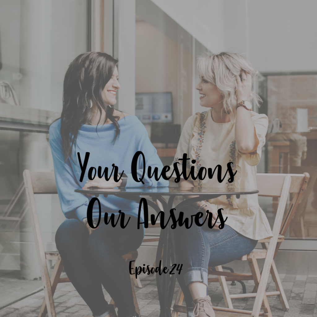 Your Questions Our Answers A Cup Full of Hope Podcast Caroline Harries
