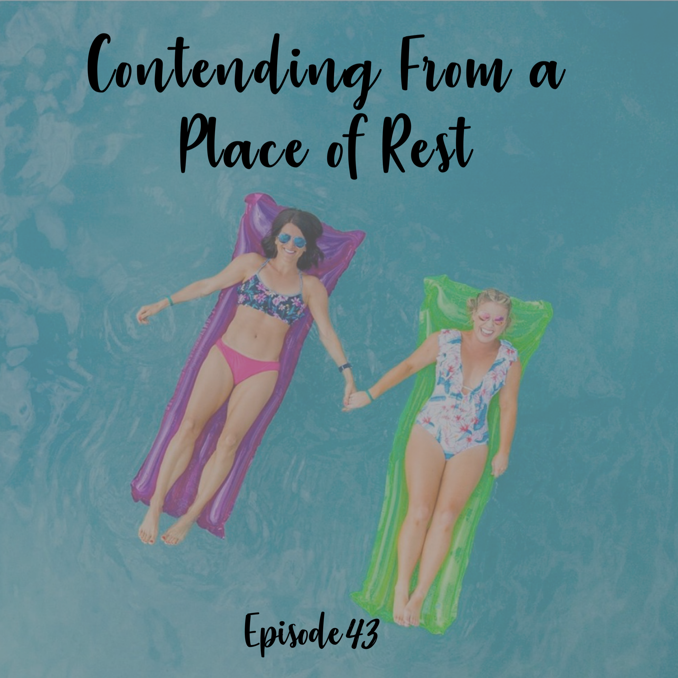 Contending from a place of rest hebrews a cup full of hope podcast