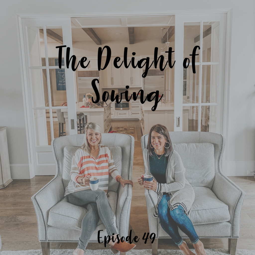 A Cup Full of Hope Podcast - the dleight of sowing