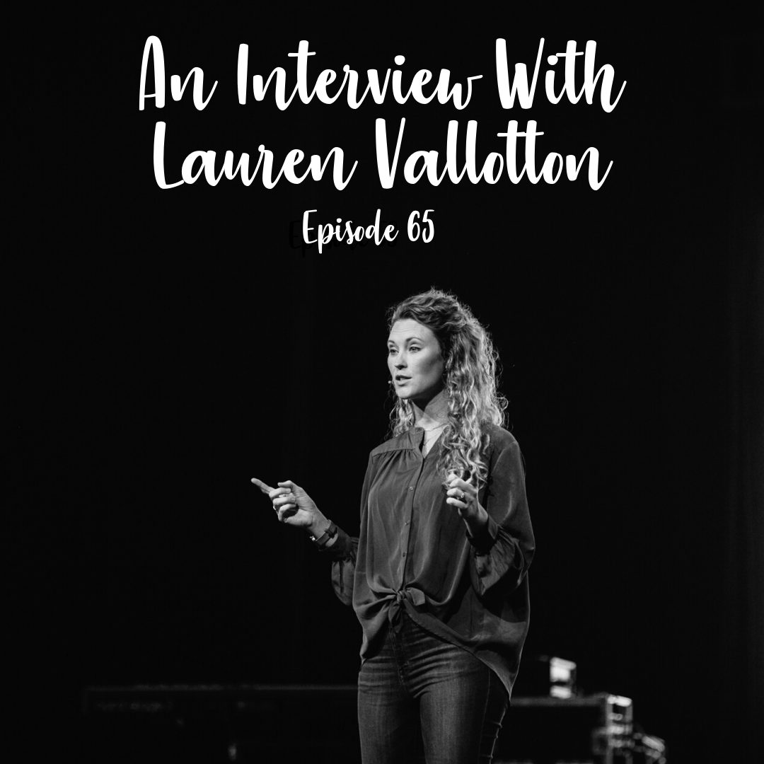 A Cup Full of Hope Podcast-interview with lauren vallotton