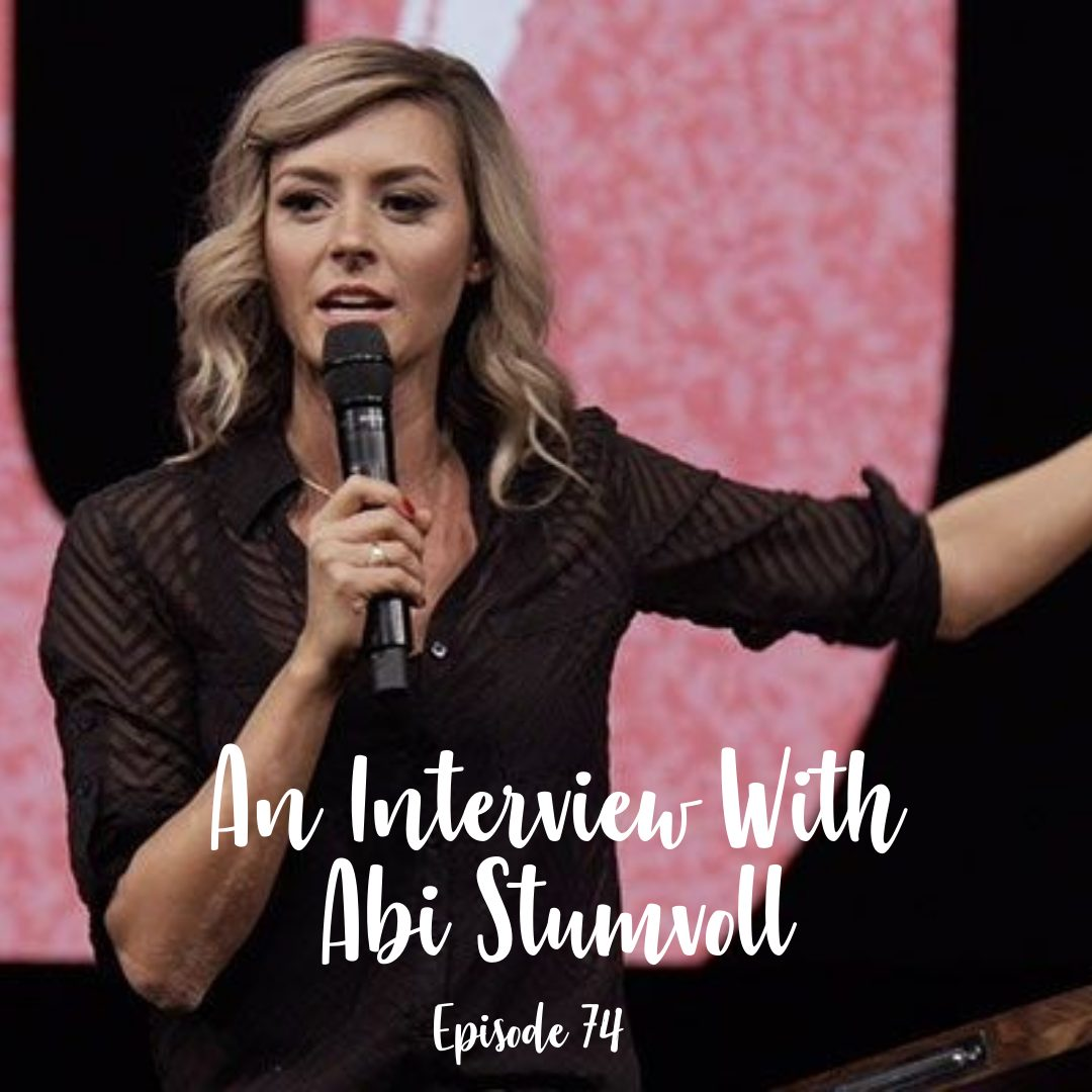 A Cup Full of hope podcast - an interview with abi stumvoll